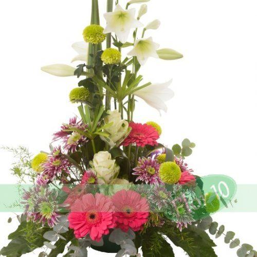 Centro de Flor en Altura