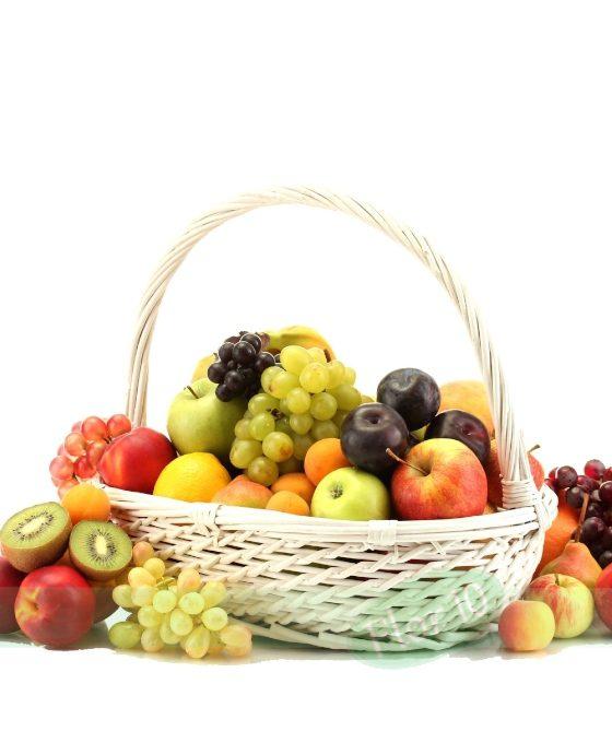 Cestas De Frutas Regalar Cesta De Frutas Frescas Floristería Camelias