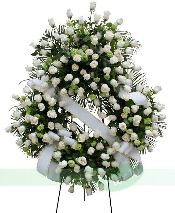 Flores para funeral, Coronas Funerarias, envío coronas funerarias, flores para difuntos, flores funerarias, corona de flores funeral, flores funeral, envío de coronas funerarias