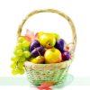 Frutas variadas en Cesta